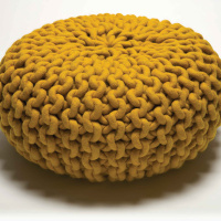 Urchin pouf by Christien Meindertsma