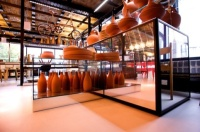 Unibox Lumenal fit out of Tom Dixon shop, London