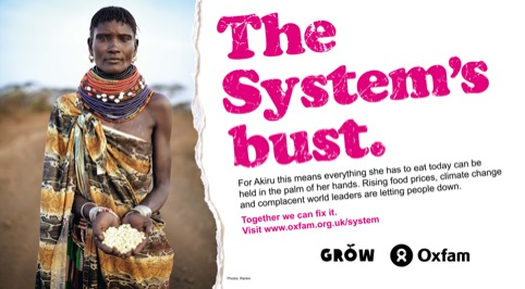 Oxfam campaign Grow