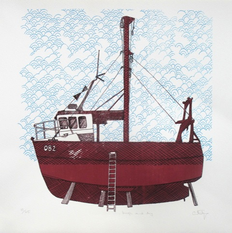 High and Dry Print by Amy Aardvark