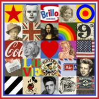 Sir Peter Blake Some of the Sources of Pop Art No 7