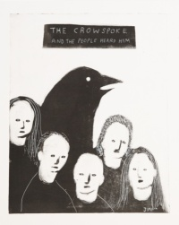 The Crow Spoke