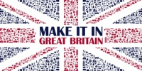 Make It In Great Britain Flag
