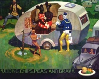 Campsite Cavalcade by Paul Slater