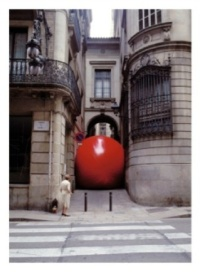 Red Ball in Barcelona