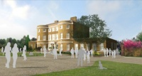 CGI of the new east wing extension