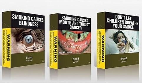 Plain Cigarette Packaging Deterrent Or Disaster Design Week