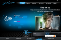 The YouView website