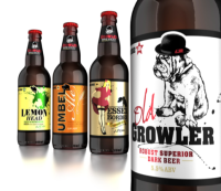 JDO's new Growler beer identity and packaging