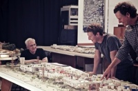 Frank Gehry and Mark Zuckerberg
