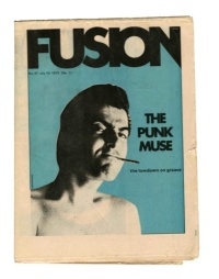 Punk-Style Graphics In The Rock Broadsheet Fusion, Circa 1970.