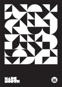 Repeating pattern graphic, by Patrick Murphy