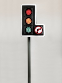 Traffic light, by David Mellor