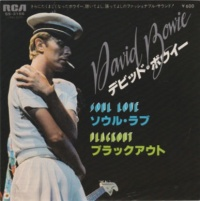 David Bowie Soul Love RCA Japan 1978