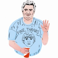 Daniel Johnston, by Paul Windle