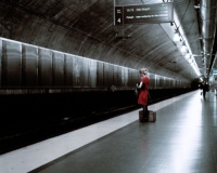 Thomas Zanon-Larcher, Nora Train station II, Oslo, August 2006