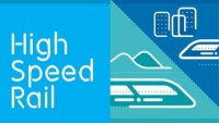 The High Speed Rail display typeface and icons
