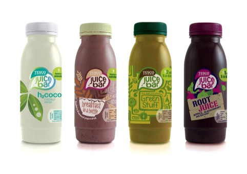 Part of Tesco's Juice Bar range