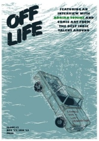 Cover for Off Life issue two, by Mat Pringle