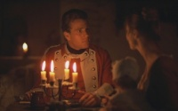 A candle-lit scene from Barry Lyndon