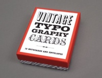 Vintage Typography Cards by Princeton Architectural Press