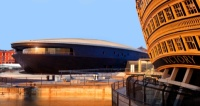 The new Mary Rose Museum has been designed by Wilkinson Eyre Architects and Pringle Brandon