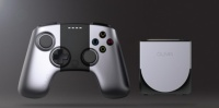 OUYA controller and console