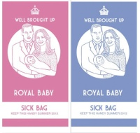 The Royal Baby Sickbag, by Lydia Leith
