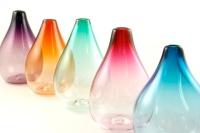 Drop Vases by Rosie Sutcliffe Glassware