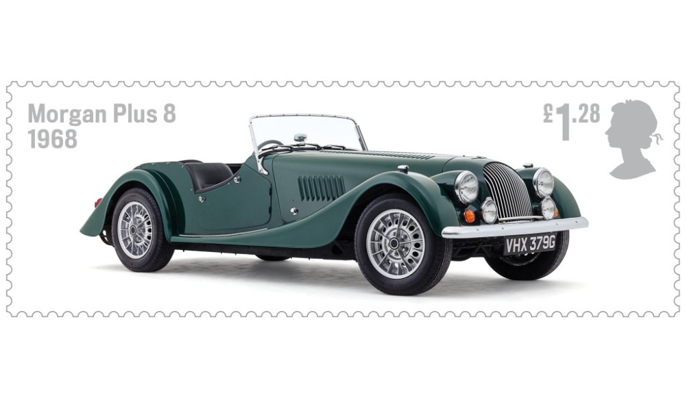 Royal Mail Stamps Celebrate British Auto Legends Design Week