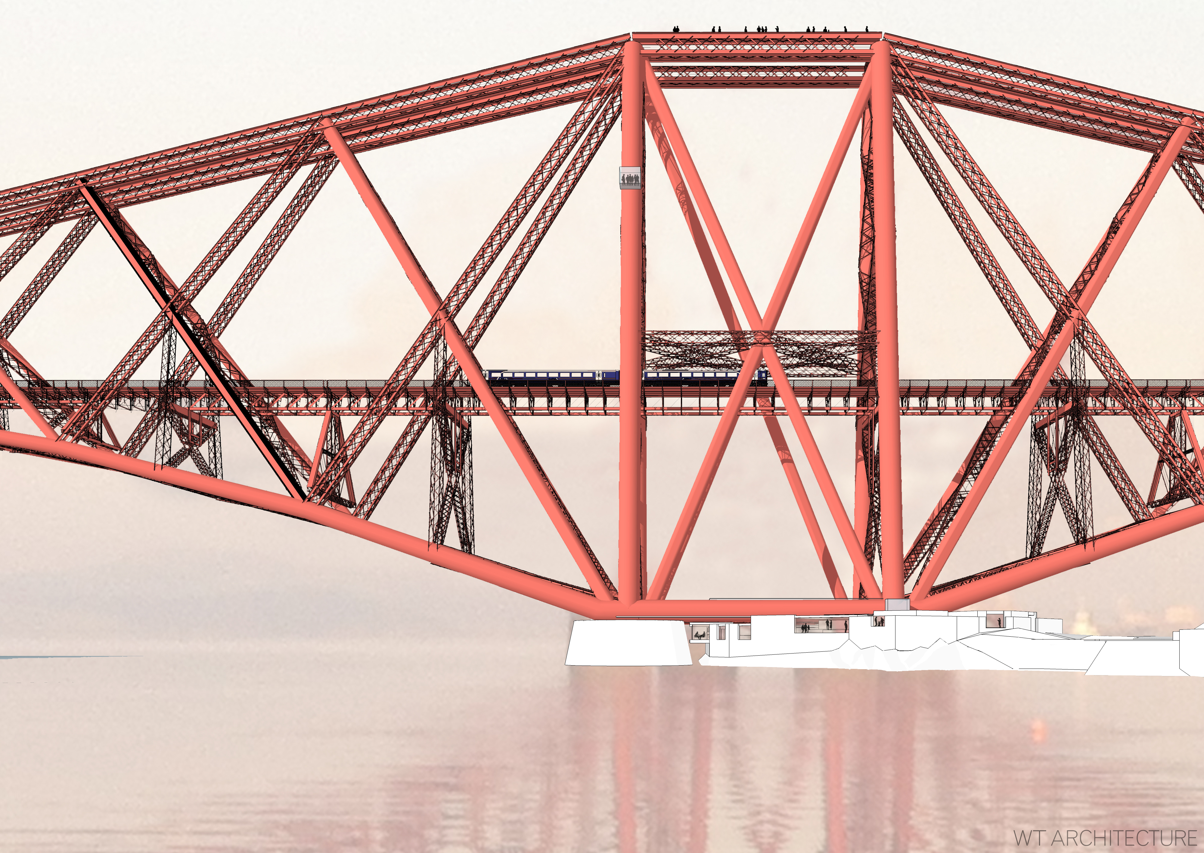 Forth rail bridge to open visitor experience design week malvernweather Gallery