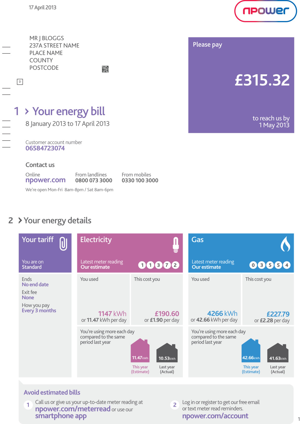 Lippincott redesigns Npower energy bills | Design Week