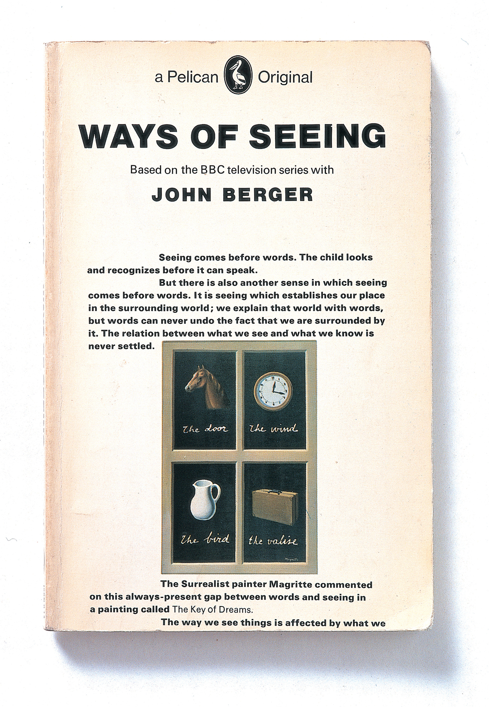 an analysis of the book ways of seeing by john bergers In 1972 british art critic and novelist john berger collaborated with producer ways of seeing ways of seeing: episode 1 and self-conscious analysis.