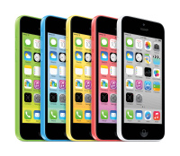 Colour range of the iPhone 5c