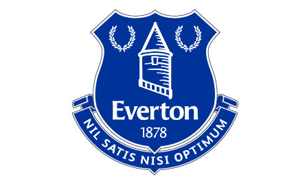 The new Everton crest, chosen by fans