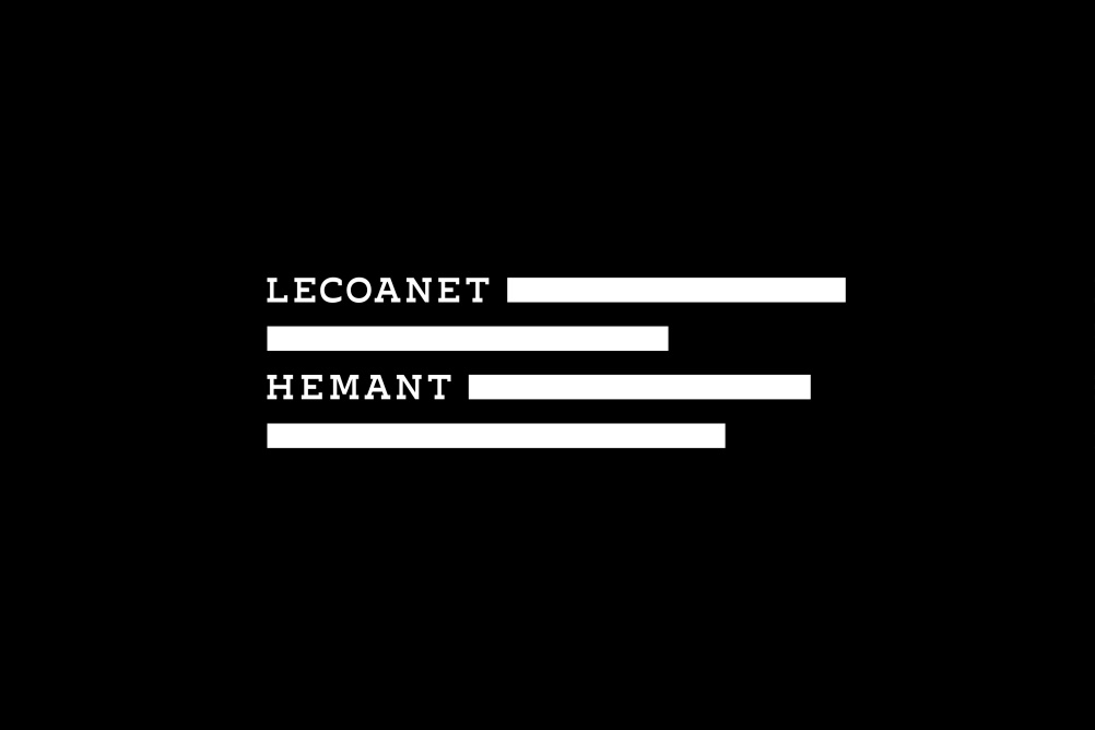 Lecoanet Hemant clothing tag