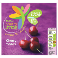 Beautifully Balanced Cherry Yogurt