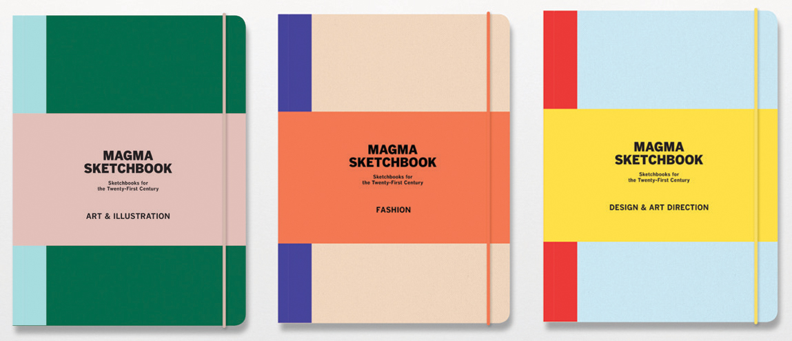 Magma And Laurence King Combine For Creative Sketchbooks