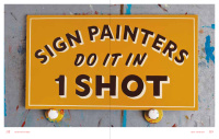 Work by Jeff Canham for Sign Painters