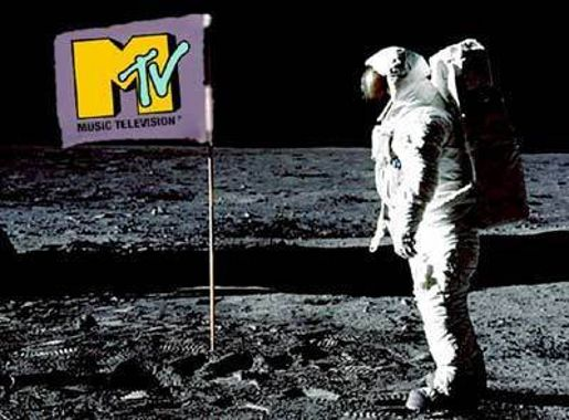MTV Moon Flag by­ Candy Kugel at Perpetual Motion pictures