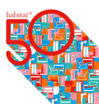 Habitat 50 identity designed by James Joyce