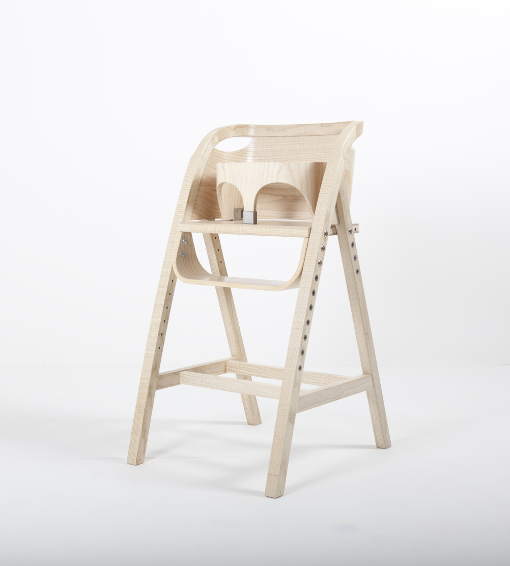High Chair created for HRH Prince George of Cambridge. By Katie Walker