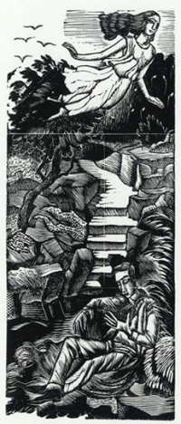 Muse by Eric Ravilious