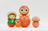 Nevalyashka Dolls, produced from 1958