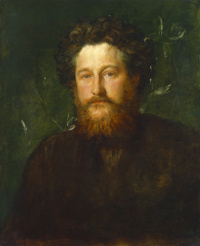 William Morris by Frederick Hollyer, 1884