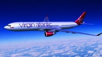 The last Virgin Atlantic rebrand by Johnson Banks in 2010