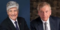 Maurice Lévy of Publicis and John Wren of Omnicom