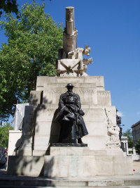 The Royal Artillery Memorial at London's Hyde Park Corner