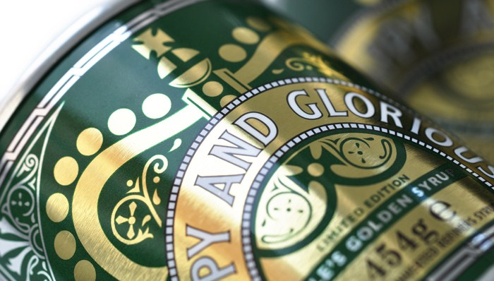 Can you spot Holly's work on this Lyle's Golden Syrup tin?