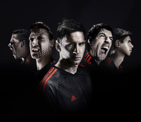 Luis Suárez featured in the Adidas World Cup campaign